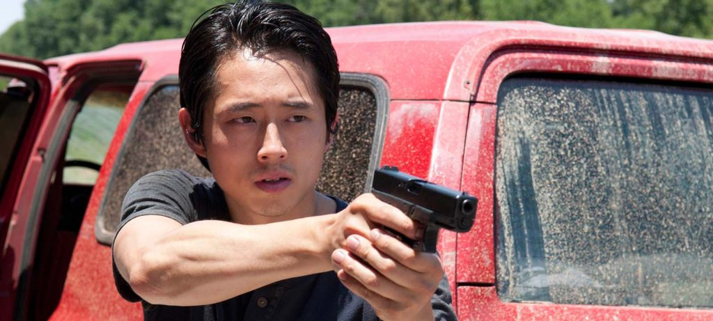 Oh Glenn... Maggie's a lucky lady. (Credit AMC)